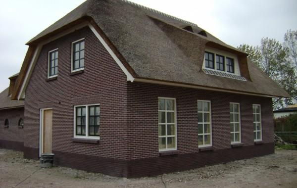 Nieuwbouw boerderij te Weesp